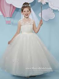 marys bridal cupids by marys bridal f519 flower sparkling gown