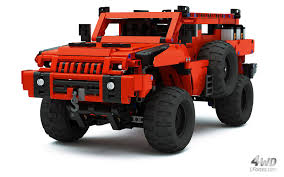 paramount marauder lego technic marauder most advanced off roader as seen on bbc
