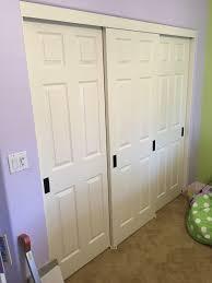 Closet Panel Doors 3 Track Sliding Closet Doors Door Multi Pass Bypass Panel Tri