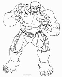charming beautiful free printable hulk cartoon coloring pages