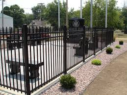 aluminum decorative fence