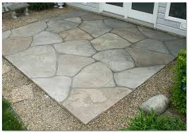Stamped Concrete Backyard Ideas Stamped Concrete Patios Home Design By Fuller