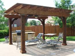 backyard triangular wooden corner pergola pergolas for picture on