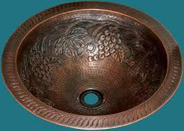 copper bath sinks bar sinks sink drains handcrafted metal