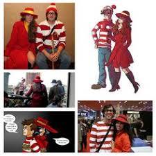 Wheres Waldo Halloween Costume Waldo Carmen Sandiego Couples Costume Halloween Ideas