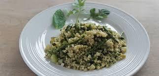 cuisiner sarrasin recette sarrasin aux petits légumes verts la boîte à grains