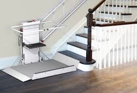 handicapped platform stair lift inclined delta savaria concord