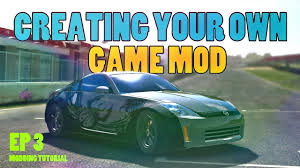 game design your own car real racing 3 modding tutorial ep 3 how to create your own game mod