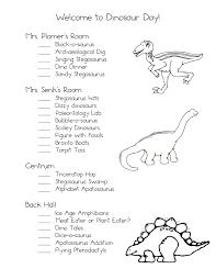 dinosaurs kindergarten nana