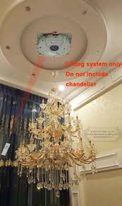 Chandelier Winch Aliexpress Buy 250kg 8m Chandelier Hoist Lighting Lifter