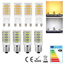 12x e14 g9 5w 10w led capsule bulbs replace halogen light bulb