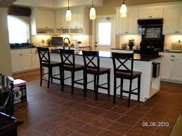 kitchen island tile and stone 42 bar stools kitchens with