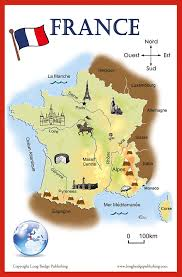 Maps Of France by Amazon Com French Language Poster Set Maps Of France