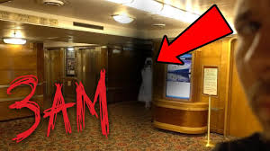 haunted queen mary ship at 3am youtube