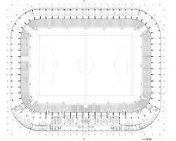 Stadium Floor Plans Of Lublin City Stadium Estudio Lamela 17