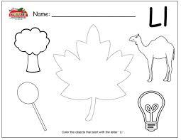 letter l activities preschool lesson plans