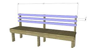 Slat Bench Build A Vintage Wood Slat Bench U2013 Designs By Studio C