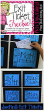 best 25 exit tickets ideas on pinterest exit slips classroom