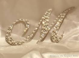and pearl wedding cake topper pearl wedding cake