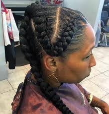 cornrows hairstyle with part in the middle 55 of the most stunning styles of the goddess braid