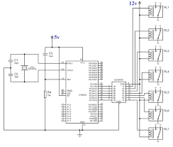 component microcontroller based projects with circuit diagram