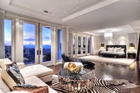 Contemporary Master Bedroom Contemporary Master Bedroom With Chandelier U0026 Hardwood Floors In