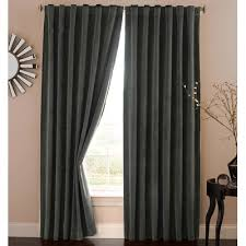 Thermalayer Eclipse Curtains Absolute Zero Solid Blackout Thermal Rod Pocket Single Curtain