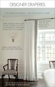 Curtain Hanging Hardware Decorating How To Get Window Treatments Like You See In Magazines Wall
