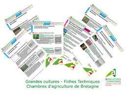 chambre d agriculture de bretagne fiches techniques grandes cultures chambres d agriculture de bretagne