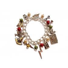 themed charm bracelet potter themed charm bracelet