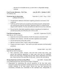 Fast Food Job Resume by Nelson Mesias Resume 2015