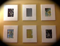 Cheap Framed Wall Art by Diy Framed Fabric Inexpensive Wall Art Eat Well Spend Smart