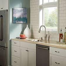 moen boutique kitchen faucet harlon spot resist stainless 1 handle kitchen faucet 87499srs