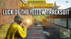 pubg yellow tracksuit luck of the yellow tracksuit playerunknown s battlegrounds