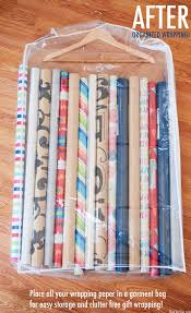 ways to store wrapping paper savvy housekeeping 5 creative ways to store wrapping paper