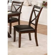 Leather And Wood Chair Buy Dining Room Chairs And Furniture From Rc Willey