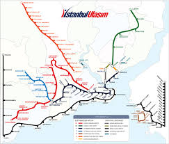 Map Of Istanbul Istanbul Metro Online Booking By Istanbul Hotels
