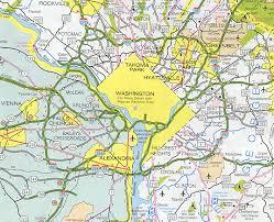 maryland map capital capital beltway i 495 and i 95