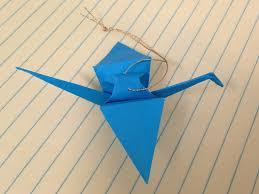 in july origami crane ornaments teachkidsart
