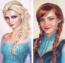anna from frozen hairstyle real life elsa and anna frozen pinterest elsa real life and