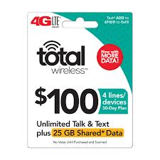 total wireless no contract phone plans prepaid phones walmart com