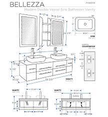 Average Height Of Bathroom Vanity by Bathroom Cabinet Measurements Part 37 Mirror Height In Bathroom