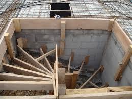 treppen einschalen keller hausbaublog andrea und philipp