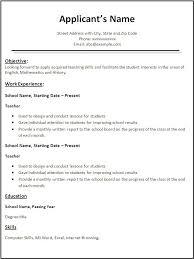exle of simple resume simple resume templates word nardellidesign