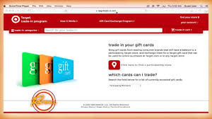 trade gift cards for gift cards check out this target gift card hack