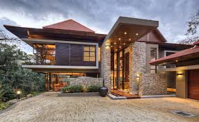 modern large natural fresh architectural house design with great