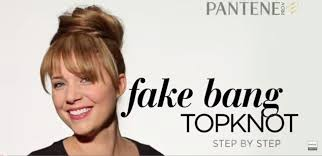 find a hairstyle using your own picture how to make fake bangs hairstyle in 6 easy steps rewardme