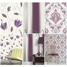 white glitter wallpaper ebay vymura synergy plum purple white silver glitter wallpaper stripe