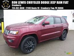 jeep red 2017 2017 velvet red pearl jeep grand cherokee laredo 4x4 117867292