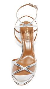 aquazzura leila sandals shopbop